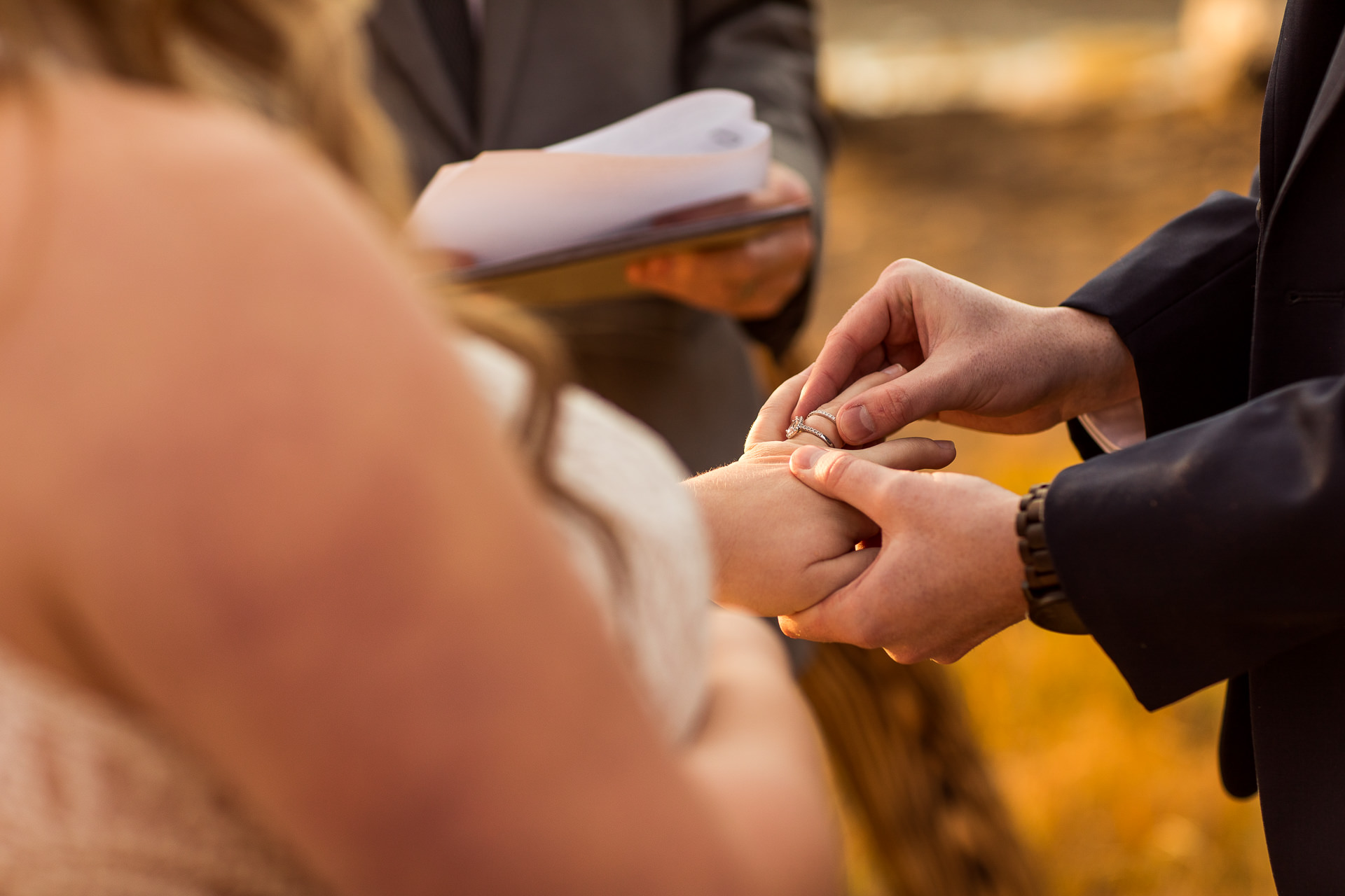 Ring Ceremony at Crater Lake