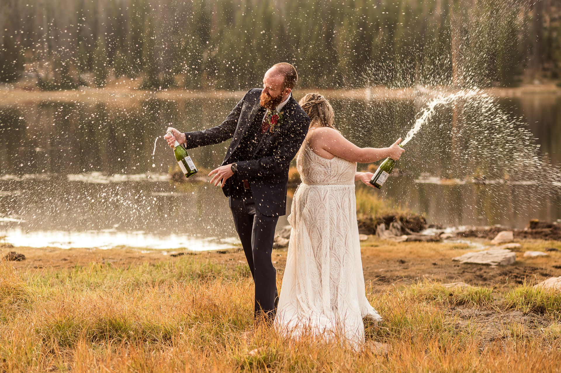 Champagne Toast Crater Lake