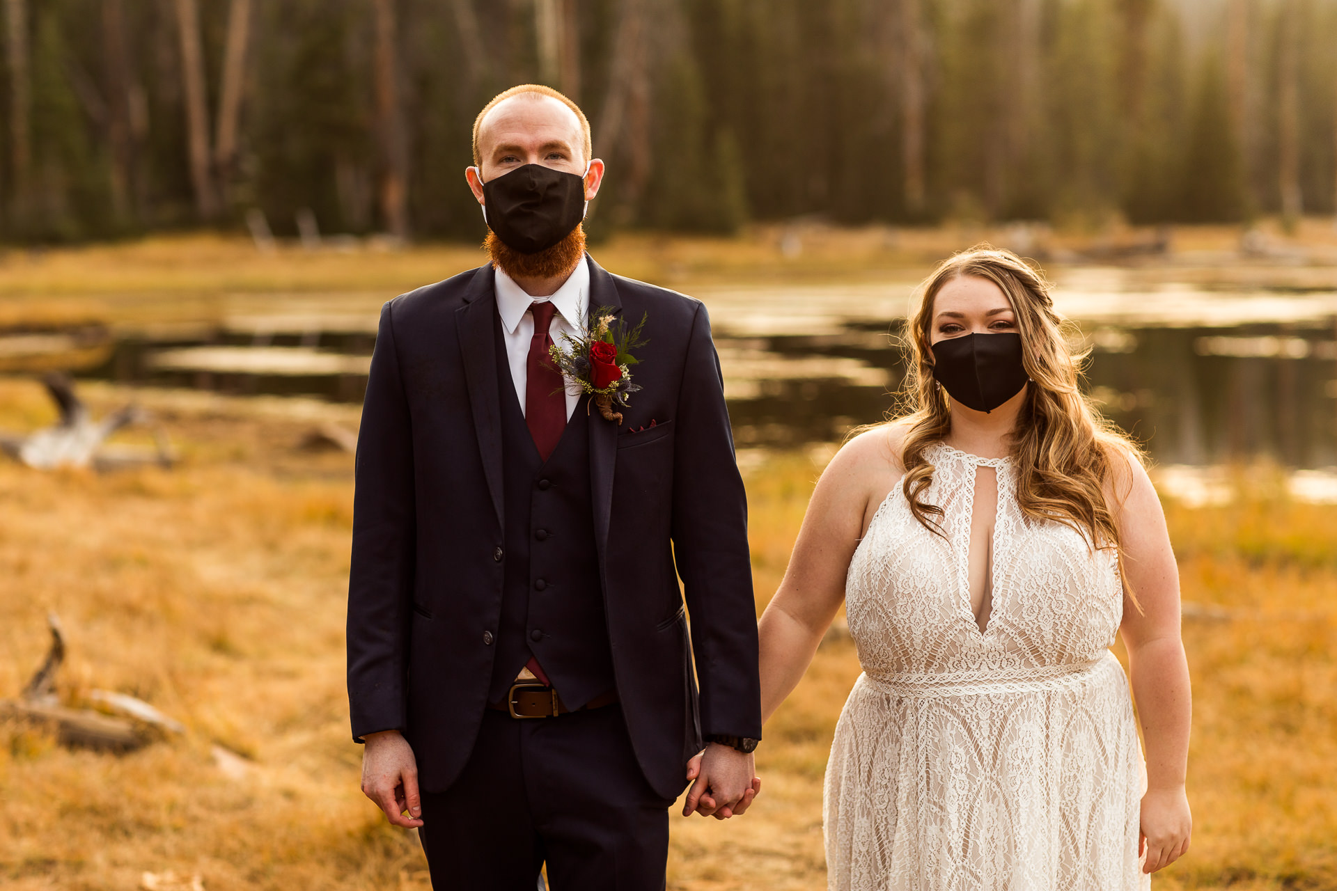Covid19 Elopement with masks
