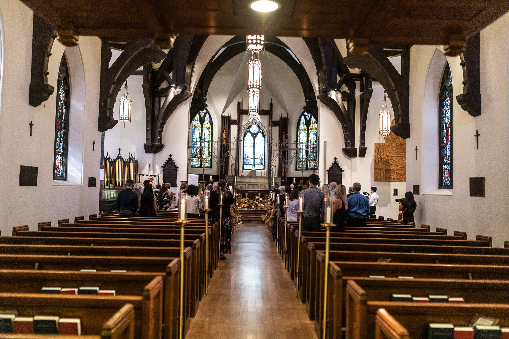St. Marks Cathedral Wedding