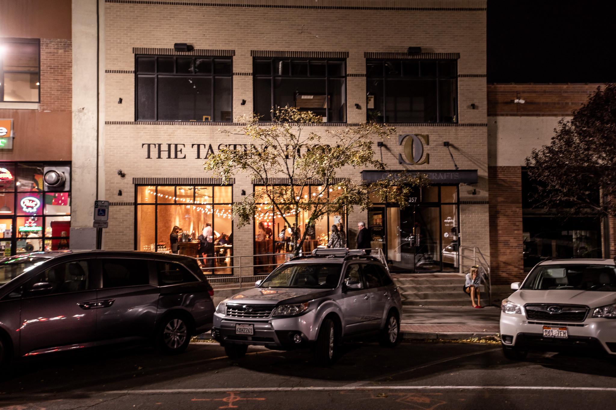 Tasting Room Wedding Reception Downtown Salt Lake City