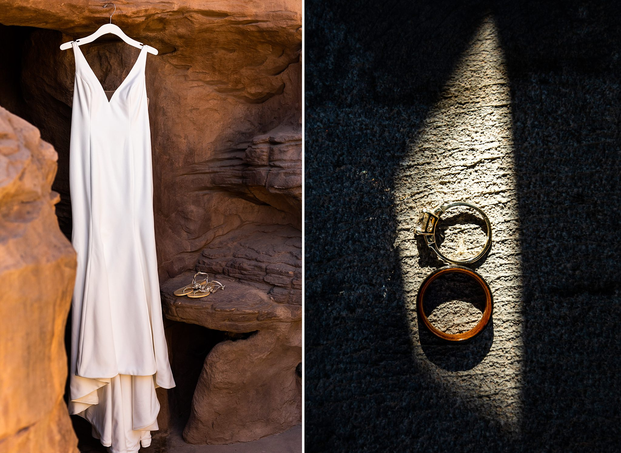 Getting Ready Photos Southern Utah Elopement
