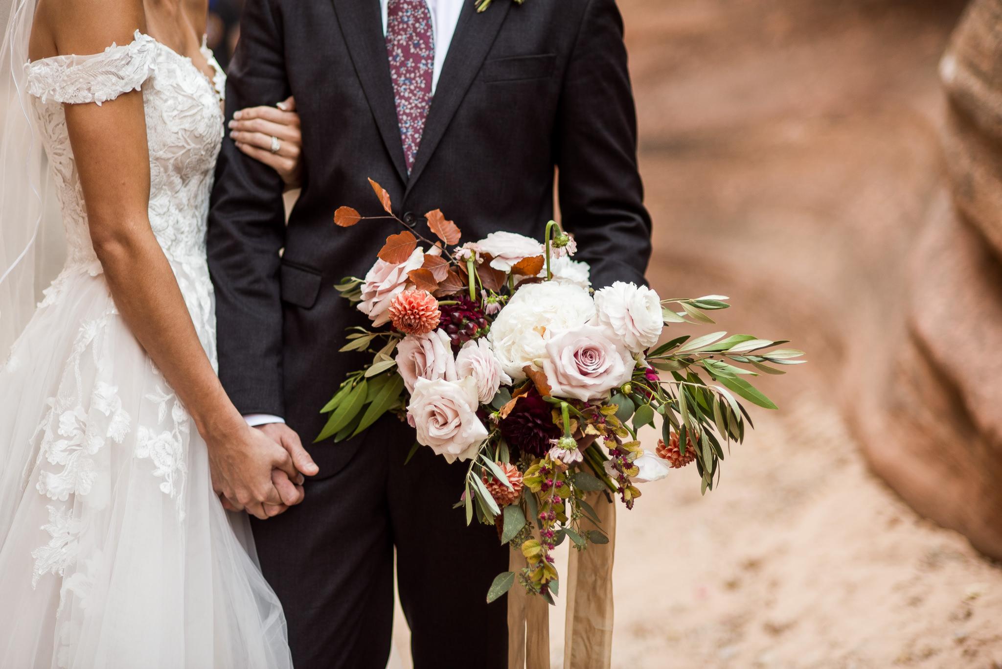 Slot Canyon Wedding Portraits