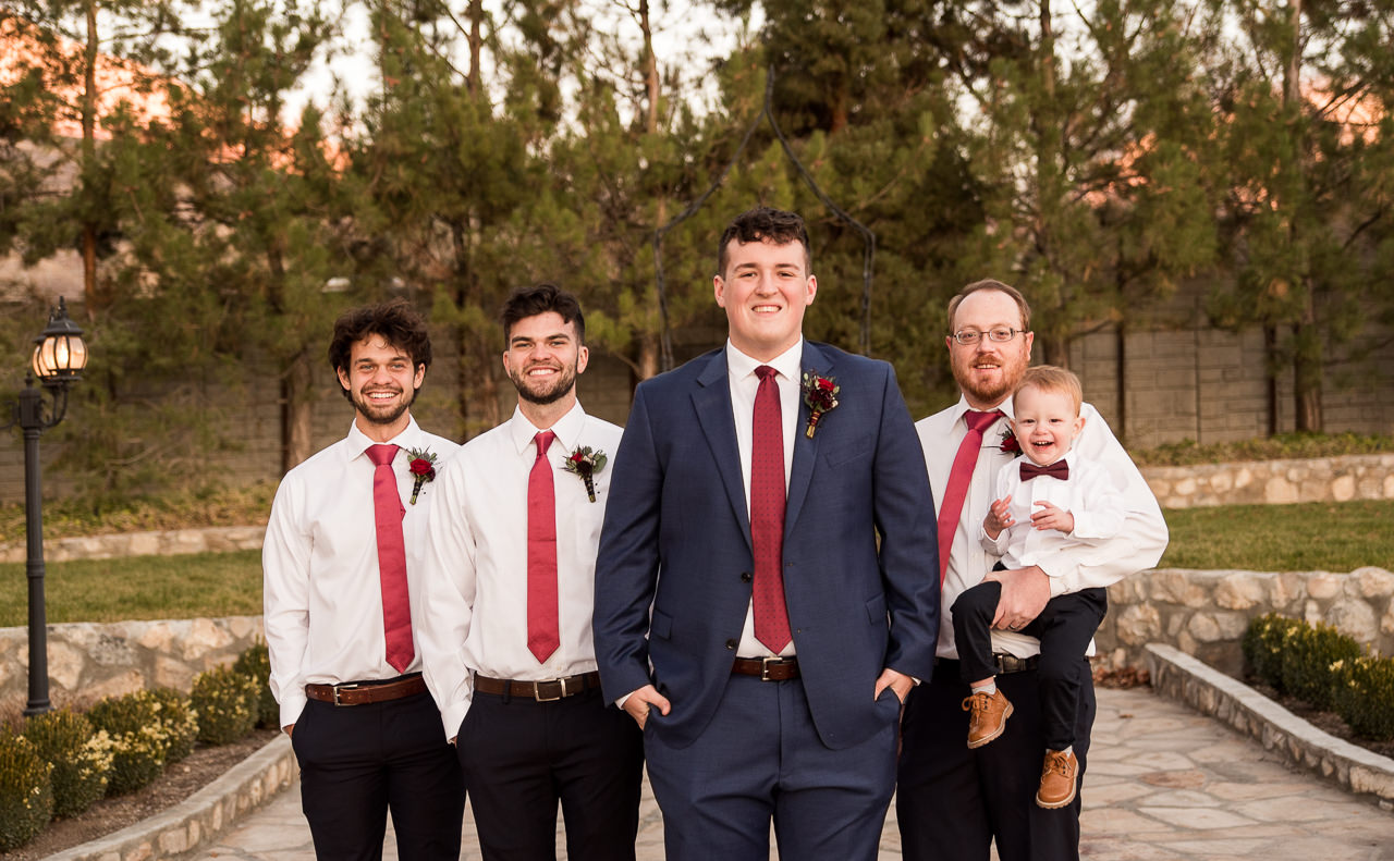 Groomsmen Portraits at Wadley Farms
